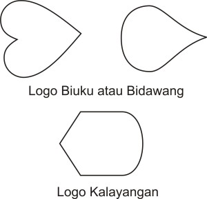 bentuk logo